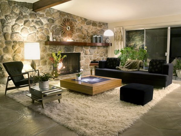 living-room-ideas-with-stone-wall-decoration